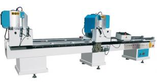 LJZ2-450x3700 Double Head cutting saw for aluminium and upvc profile